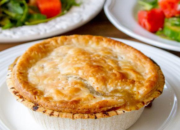 Chicken Pot Pie + Salad