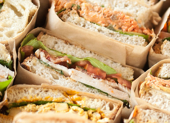 Create your own sandwiches