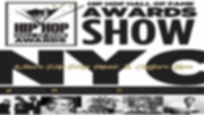Hip Hop Hall of Fame Awards Flyer - Logo