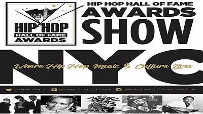 Hip Hop Hall of Fame Awards Flyer - Logo