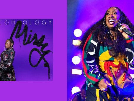 #NewHipHopMusic!  Got To Get The New @MissyElliot EP Album Entitled 'Iconology'!