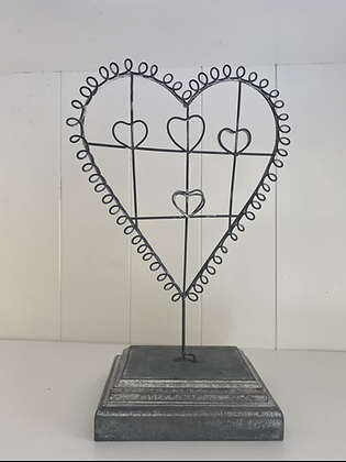 Picture holder heart