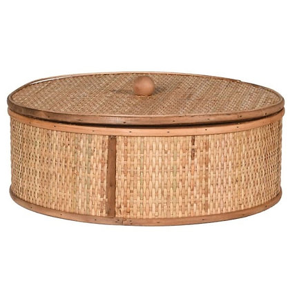 Extra Large woven Round Box