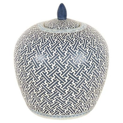 Temple Jar in Blue and White