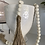 Thumbnail: Wooden bead Garland with twine tassels