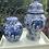 Thumbnail: Two blue /white ginger Jar Bundle .