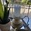 Thumbnail: Lantern Mango Wood & Glass Small
