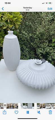 Tall Archictectural Vase