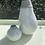 Thumbnail: Set of two ceramic glazed vases & long magnolia stem