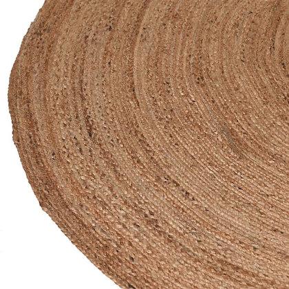 Woven circle Rug