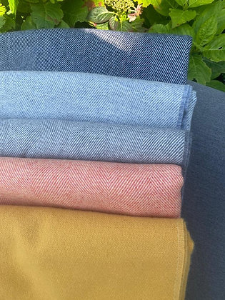 Lambswool Throw available in 5 colours