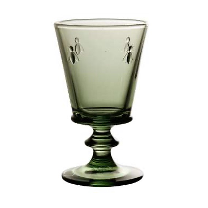 Green wine Glass set of 6