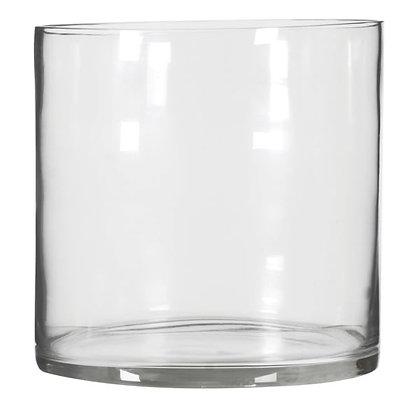 Large cyclinder Glass Vase