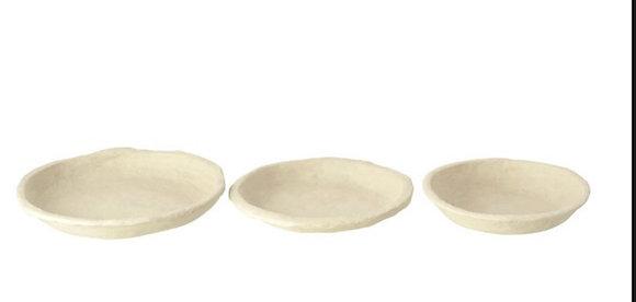 Paper Mache plates