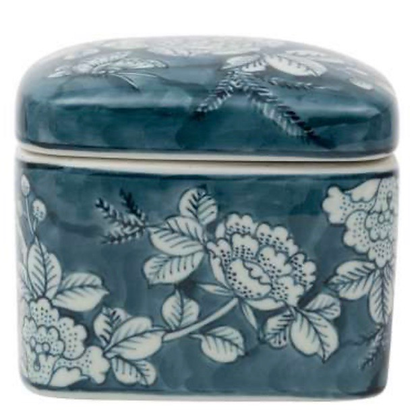 Rosier Blue Trinket Box