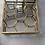 Thumbnail: Honeycomb Box Antique Brass Small