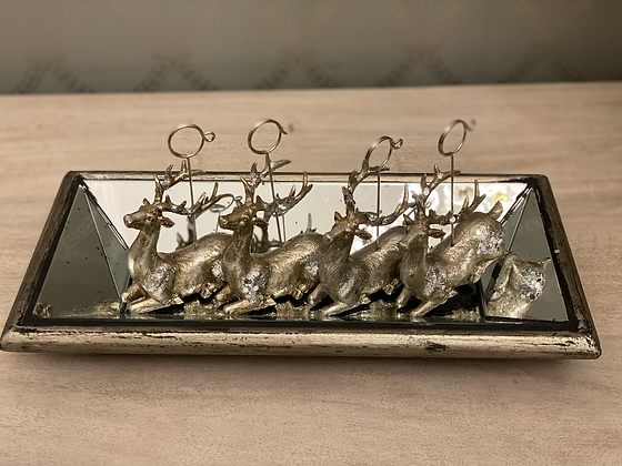Reindeer placeholder and tray