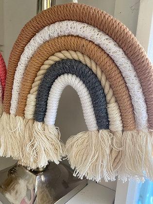 Kids pretty Little woven hanger beige /white/grey