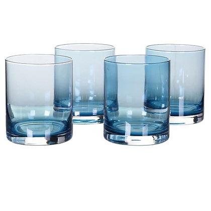 Blue Tumbler Glasses in set of 4