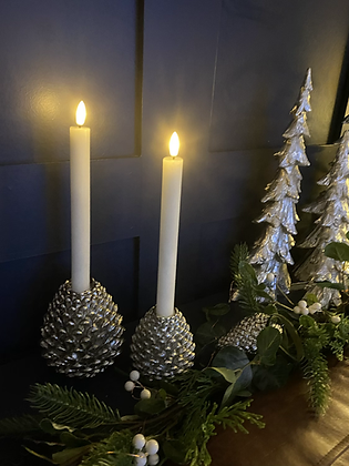 Luxe real wax led dinner candles