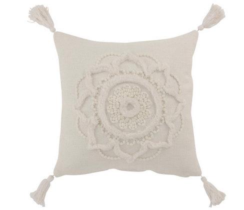 Flower Cushion /Tassle