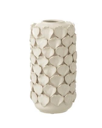 Small Petal Vase White