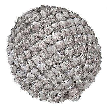 Grey artichoke decoration