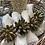 Thumbnail: Napkin Linen lace edge off white colour set of 4