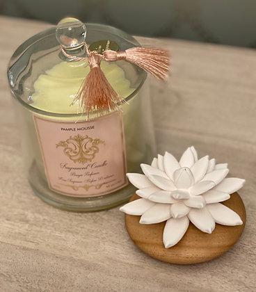 Lotus Diffuser & candle