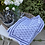Thumbnail: Placemats indigo blue fabric