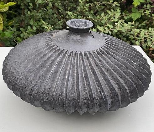 Black Architectural Vase