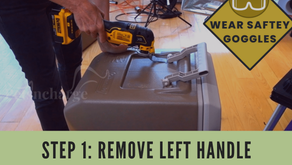 Step 1: Remove the Left Handle
