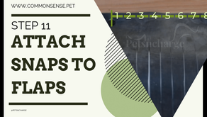 Step 11: Attach Snaps to the Flaps