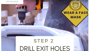 Step 2: Drill Holes for the Exits