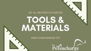 DIY Shelter: Tools & Materials