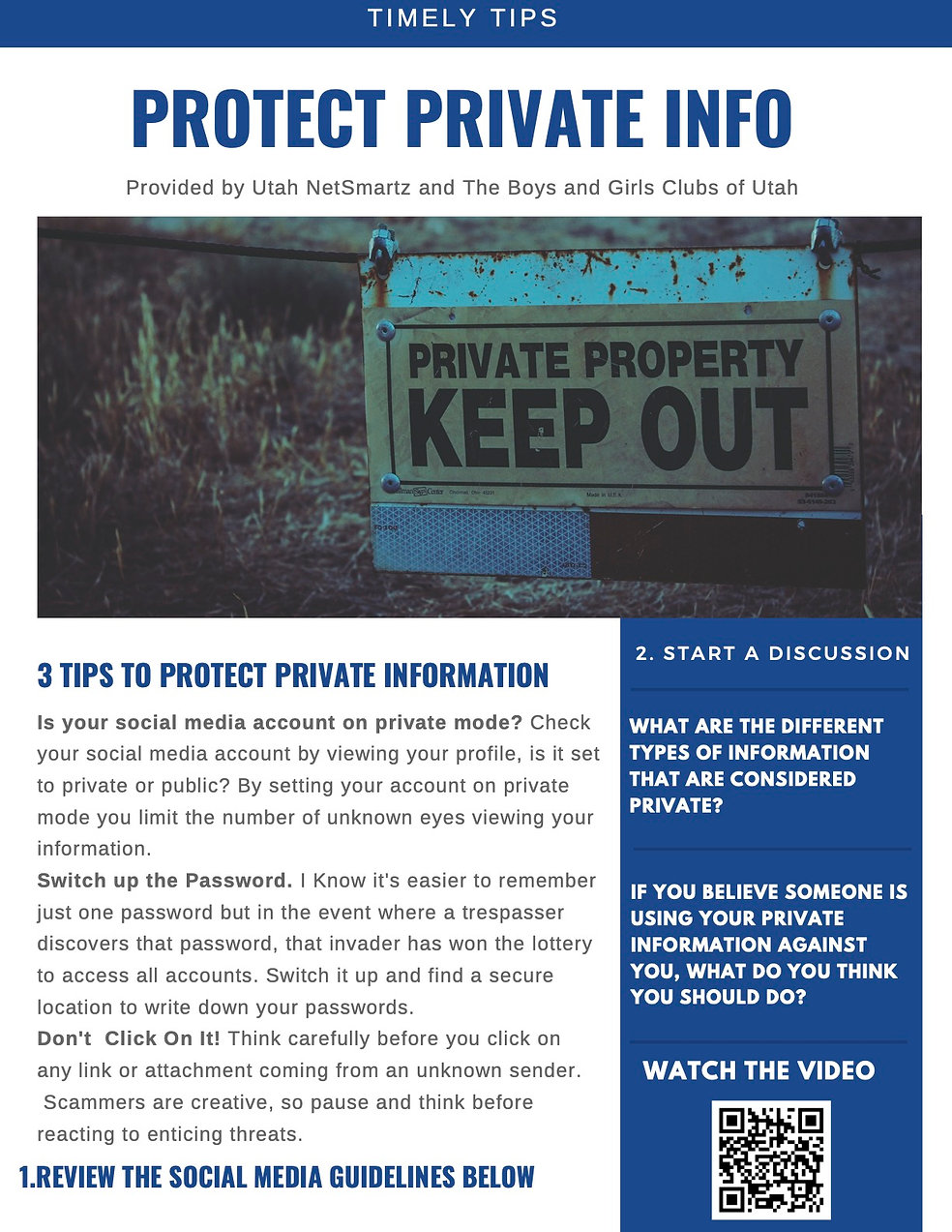 Monthly Tip - Protecting Private Info jp