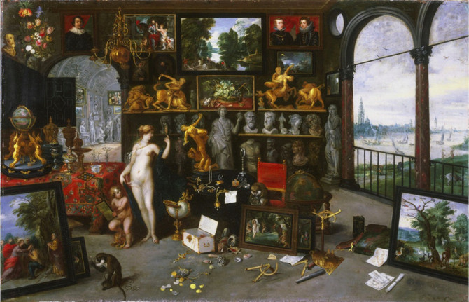 Top Five Qualities of a Great Art Collector