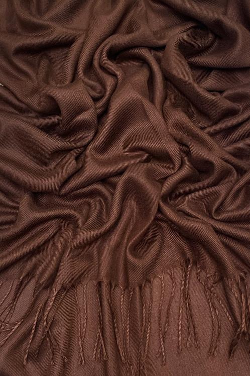 Pashmina-Chocolate Brown