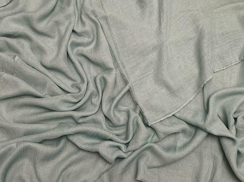 Cotton Viscose-Dusty Mint