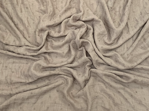Dotted Viscose-Taupe