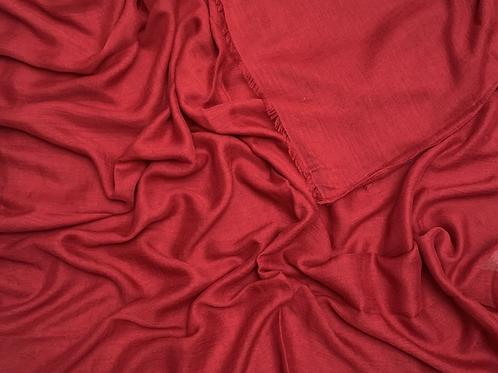 Cotton Viscose-Maroon
