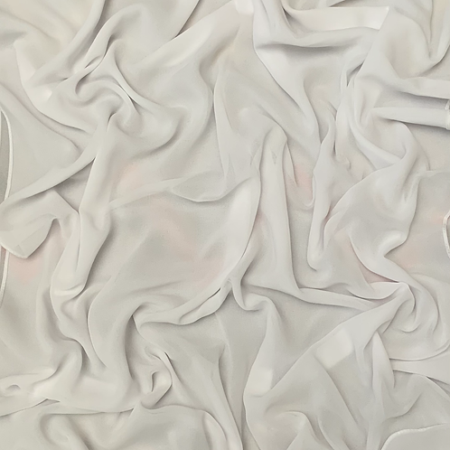 Premium Chiffon-Pure White