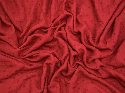 Dotted Viscose-Red