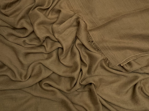 Cotton Viscose-Hazelnut