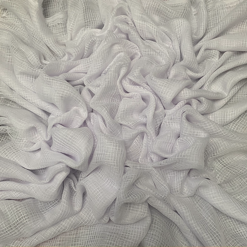 Hollow Cotton-Pure White