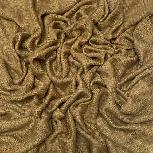 Hollow Cotton-Gold Mustard