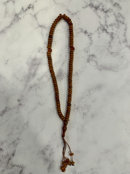Prayer Beads-Shades of Brown