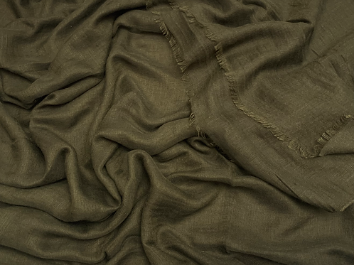 Cotton Viscose-Dark Olive