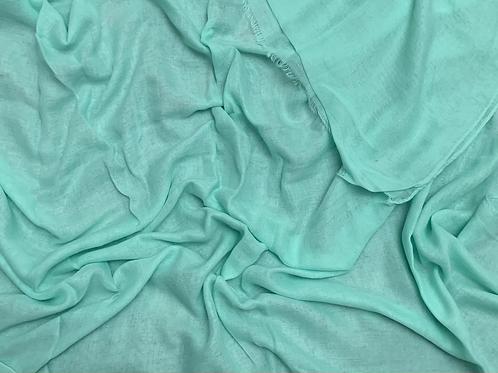 Cotton Viscose-Mint