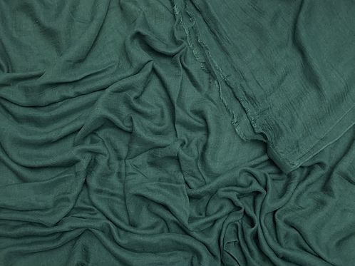 Cotton Viscose-Emerald Green
